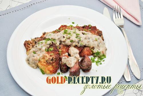 драники из картофеля с грибами