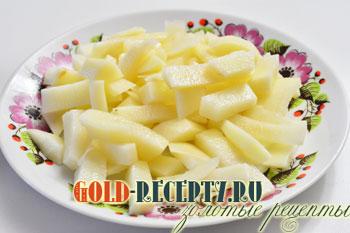 жареная картошка с лесными грибами рецепт