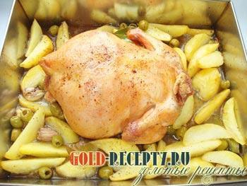 Курица запеченная