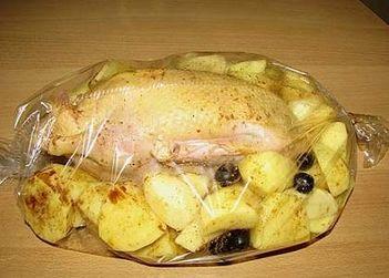 утка с картошкой