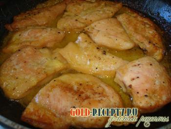 Филе курицы в духовке пошаговое
