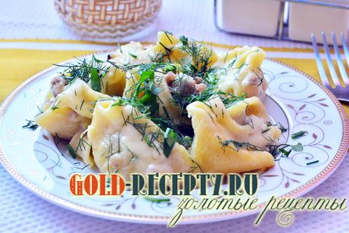 фаршированные макароны с грибами в духовке рецепт с фото