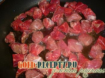 картошка с капустой тушеная с мясом