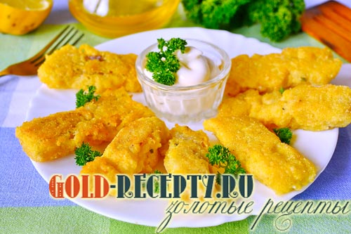 рыба в кляре рецепт с фото пошагово треска
