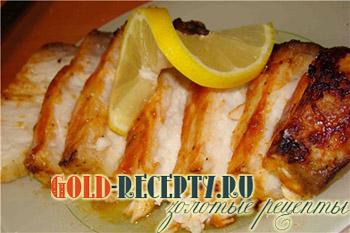 рыба в духовке в фольге