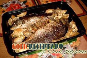 рыба в фольге рецепт