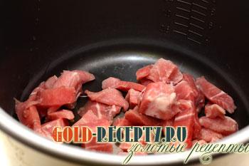 Мясо в мультиварке рецепты для панасоник