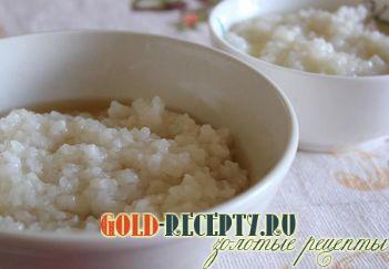 рисовая каша в мультиварке