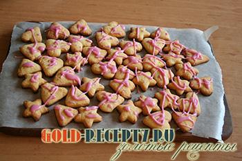 Печенье с и пошаговой инструкцией