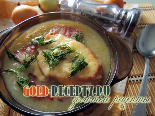 рецепт лукового супа самый вкусный