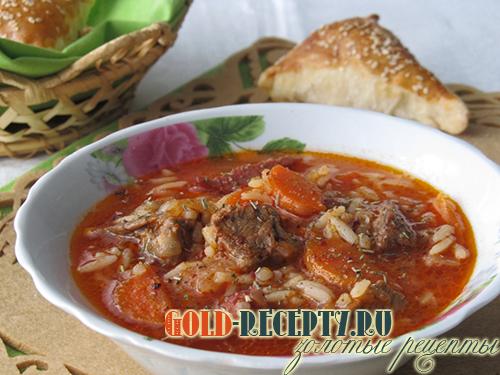 суп харчо рецепт приготовления пошагово