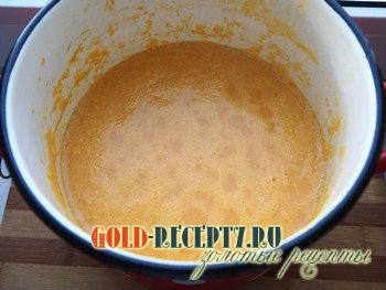 Суп пюре из тыквы рецепты с фото