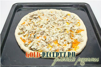 постная пицца рецепт