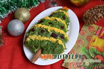 салаты на новый год из простых продуктов