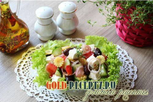 Греческий салат классический рецепты с пошагово