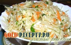 Рецепт салата с морским коктейлем с фото