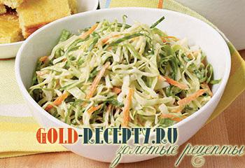 рецепт салата из капусты как в столовой
