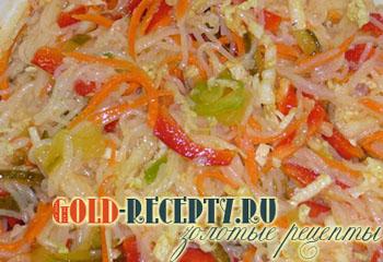 салат с капустой как в столовой рецепт