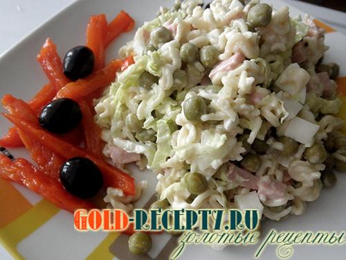 i рецепт салат из мивины