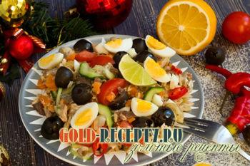 Вкусные рецепты салатов с маслинами