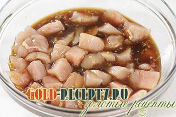 маринад из соевого соуса для курицы для шашлыка