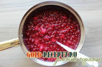 Желе из красной смородины и малины на зиму пошаговая инструкция