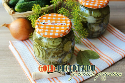 салаты из огурцы на зиму рецепты с фото
