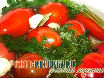 соленые помидоры на зиму рецепты