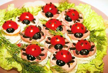 вкусные бутерброды на праздничный стол с фото