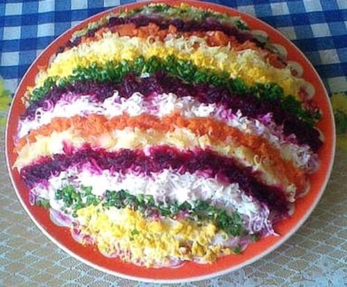 салаты рецепты с фото под шубой