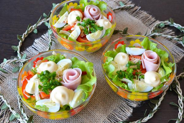 осенние салаты на осенний бал рецепты