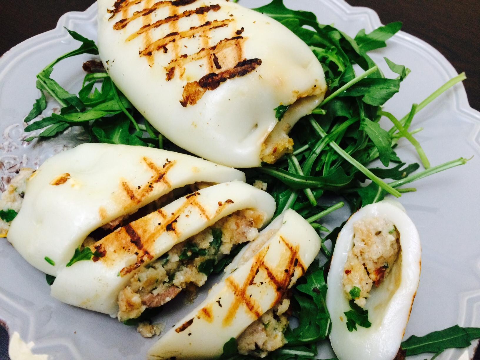кальмары рецепты с фото в духовке с сыром
