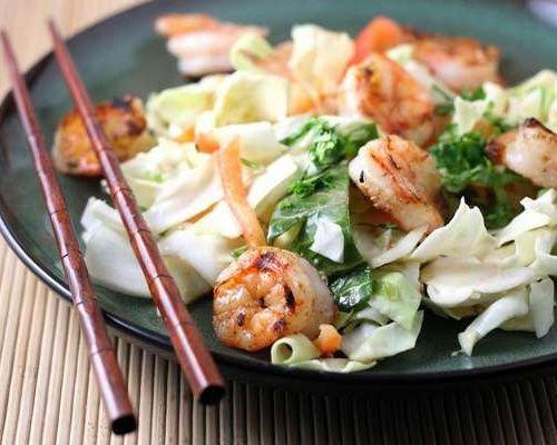 салат к креветками рецепт с фото очень вкусный