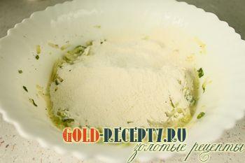 Оладьи из кабачков с луком и укропом, пошаговый рецепт с фото