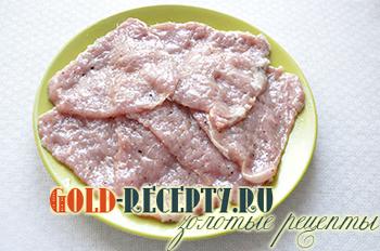 Мясо по-французски в духовке , пошаговый рецепт с фото