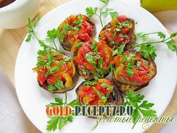 Соте из баклажанов по-ташкентски для скороварки – кулинарный рецепт