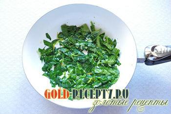 Фетучини с креветками и шпинатом, пошаговый рецепт с фото