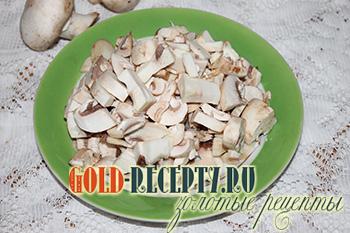 Голубцы с грибами и рисом, пошаговый рецепт с фото