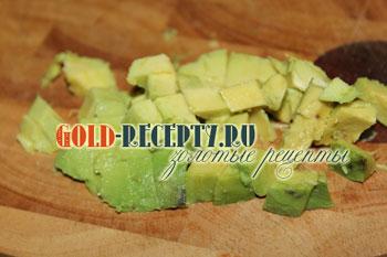 Салат из авокадо с креветками и огурцами, пошаговый рецепт с фото