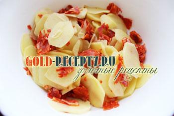 Тортилья из яиц цесарки, пошаговый рецепт с фото
