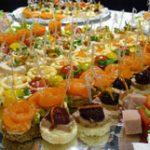 Блюда для фуршета — рецепты приготовления