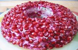 Салат «Гранатовый браслет»: рецепт приготовления