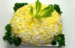 Салат мимоза рецепт: классический рецепт
