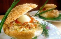 Закуска «Морская раковина»: закуска для праздничного стола