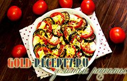 Баклажаны запечённые в духовке с помидорами и сыром