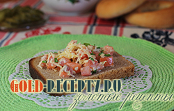 Бутерброд с красной рыбой фото рецепт