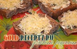 Бутерброды с сыром, простые и вкусные бутерброды
