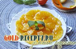 Самый простой десерт из апельсинов