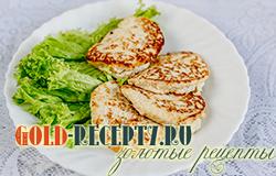 Куриные оладьи диета Дюкана рецепт с фото