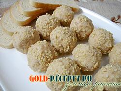 Диетические шарики из фасоли, рецепт диетической закуски